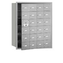 Salsbury Industries 3624AFU 4B+ Horizontal Mailbox - 24 A Doors (23 usable) - Aluminum - Front Loading - USPS Access
