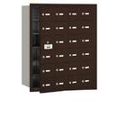 Salsbury Industries 3624ZFU 4B+ Horizontal Mailbox - 24 A Doors (23 usable) - Bronze - Front Loading - USPS Access