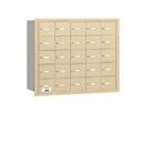 Salsbury Industries 3625SRU 4B+ Horizontal Mailbox - 25 A Doors - Sandstone - Rear Loading - USPS Access