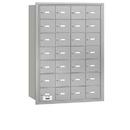 Salsbury Industries 3628ARU 4B+ Horizontal Mailbox - 28 A Doors - Aluminum - Rear Loading - USPS Access