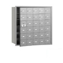 Salsbury Industries 3630AFP 4B+ Horizontal Mailbox (Includes Master Commercial Lock) - 30 A Doors (29 usable) - Aluminum - Front Loading - Private Access