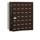 Salsbury Industries 3635ZFU 4B+ Horizontal Mailbox - 35 A Doors (34 usable) - Bronze - Front Loading - USPS Access