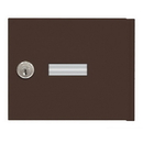 Salsbury Industries 3651BRZ Replacement Door and Lock - Standard A Size - for 4B+ Horizontal Mailbox - with (2) Keys - Bronze