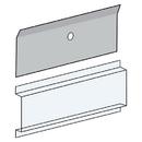 Salsbury Industries 3697 Card Holder - Clear Plastic - for 4B+ Horizontal Mailbox Door