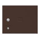 Salsbury Industries 3753P-BRZ Replacement Parcel Locker Door and Tenant Lock - for Standard 3 High (PL3) 4C Horizontal Parcel Locker - with (3) Keys - Bronze