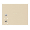 Salsbury Industries 3753P-SAN Replacement Parcel Locker Door and Tenant Lock - for Standard 3 High (PL3) 4C Horizontal Parcel Locker - with (3) Keys - Sandstone