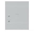 Salsbury Industries 3754.5P-ALM Replacement Parcel Locker Door and Tenant Lock - for Standard 4.5 High (PL4.5) 4C Horizontal Parcel Locker - with (3) Keys - Aluminum