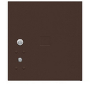 Salsbury Industries 3754P-BRZ Replacement Parcel Locker Door and Tenant Lock - for Standard 4 High (PL4) 4C Horizontal Parcel Locker - with (3) Keys - Bronze