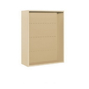 Salsbury Industries 3810D-SAN Surface Mounted Enclosure - for 3710 Double Column Unit - Sandstone