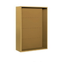 Salsbury Industries 3811D-GLD Surface Mounted Enclosure - for 3711 Double Column Unit - Gold