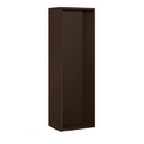 Salsbury Industries 3811S-BRZ Surface Mounted Enclosure - for 3711 Single Column Unit - Bronze