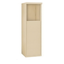Salsbury Industries 3904S-SAN Free-Standing Enclosure - for 3704 Single Column Unit - Sandstone