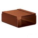 Salsbury Industries 4315D-COP Newspaper Holder - for Designer Roadside Mailbox - Copper