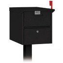 Salsbury Industries 4325BLK Roadside Mailbox - Black