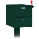 Salsbury Industries 4325GRN Roadside Mailbox - Green