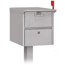 Salsbury Industries 4325SLV Roadside Mailbox - Silver