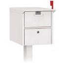 Salsbury Industries 4325WHT Roadside Mailbox - White
