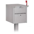 Salsbury Industries 4350SLV Mail Chest - Silver