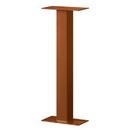Salsbury Industries 4365D-COP Standard Pedestal - Bolt Mounted - for Designer Roadside Mailbox - Copper