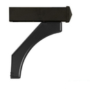 Salsbury Industries 4377BLK Arm Kit - Replacement for Deluxe Post for (1) Roadside Mailbox - Black