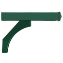 Salsbury Industries 4378GRN Arm Kit - Replacement for Deluxe Post for (2) Roadside Mailboxes - Green