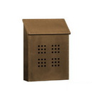 Salsbury Industries 4425 Antique Brass Mailbox - Decorative - Surface Mounted - Vertical Style