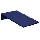 Salsbury Industries 44451BLU Sloping Hood - for Heavy Duty Plastic Locker - 1 Wide - Blue