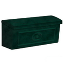 Salsbury Industries 4560GRN Townhouse Mailbox - Surface Mounted - Green