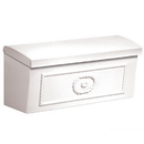 Salsbury Industries 4560WHT Townhouse Mailbox - Surface Mounted - White