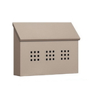 Salsbury Industries 4615BGE Traditional Mailbox - Decorative - Horizontal Style - Beige