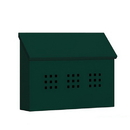 Salsbury Industries 4615GRN Traditional Mailbox - Decorative - Horizontal Style - Green