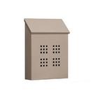 Salsbury Industries 4625BGE Traditional Mailbox - Decorative - Vertical Style - Beige