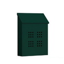 Salsbury Industries 4625GRN Traditional Mailbox - Decorative - Vertical Style - Green