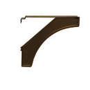 Salsbury Industries 4837BRZ Arm Kit - Replacement for Decorative Mailbox Post - Designer - Bronze