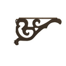 Salsbury Industries 4847BRZ Arm Kit - Replacement for Decorative Mailbox Post - Victorian - Bronze