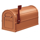 Salsbury Industries 4850A-COP Antique Rural Mailbox - Copper