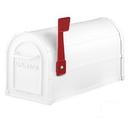 Salsbury Industries 4850WHT Heavy Duty Rural Mailbox - White