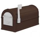 Salsbury Industries 4855E-BZS Eagle Rural Mailbox - Bronze - Silver Eagle