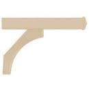 Salsbury Industries 4878BGE Arm Kit - Replacement for Deluxe Post for (2) Mailboxes - Beige