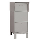 Salsbury Industries 4975GRY Courier Box - Gray
