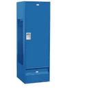 Salsbury Industries 71024BL-A Standard Gear Metal Locker - Solid Door - 6 Feet High - 24 Inches Deep - Blue - Assembled