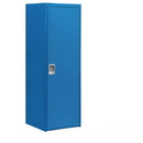 Salsbury Industries 7121BLU Welded Industrial Storage Cabinet - Single Door - 72 Inches High - 24 Inches Deep - Blue