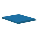Salsbury Industries 77695BL Compartment Shelf - for 15 Inch Deep Metal Locker - Blue