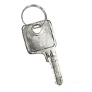 Salsbury Industries 77721 Master Control Key - for Combination Padlock of Metal Locker