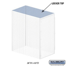 Salsbury Industries 8335-T Top - for Bulk Storage Locker - 36 Inches Wide - 60 Inches Deep