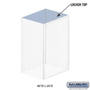 Salsbury Industries 8343-T Top - for Bulk Storage Locker - 48 Inches Wide - 36 Inches Deep