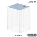 Salsbury Industries 8344-T Top - for Bulk Storage Locker - 48 Inches Wide - 48 Inches Deep