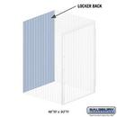 Salsbury Industries 8347-B Back - for Bulk Storage Locker - 48 Inches Wide - 90 Inches High