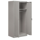 Salsbury Industries 9174GRY-A Storage Cabinet - Wardrobe - 78 Inches High - 24 Inches Deep - Gray - Assembled