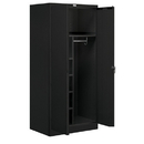 Salsbury Industries 9274BLK-U Storage Cabinet - Combination - 78 Inches High - 24 Inches Deep - Black - Unassembled